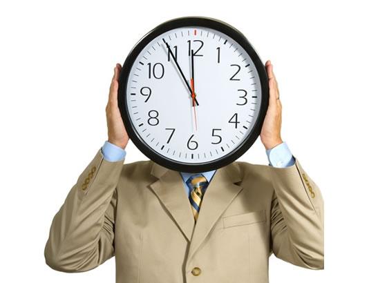 el tiempo trabajo: